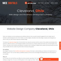 Web Design Company Cleveland OH
