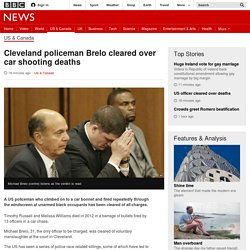 Cleveland policeman Brelo cleared over car shooting deaths - BBC News