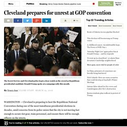Cleveland prepares for GOP convention unrest