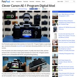 Clever Canon AE-1 Program Digital Mod
