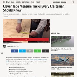 Clever Tape Measure Tricks Every Craftsman Should Know
