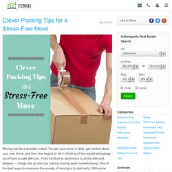 Clever Packing Tips for a Stress-Free Move