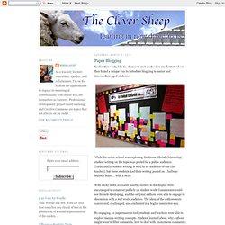Paper Blogging