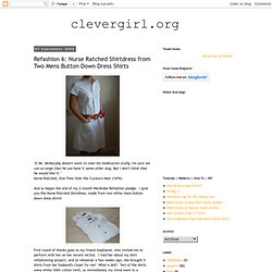 Nurse Ratched Shirtdress