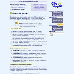 JClic - Création d'activités