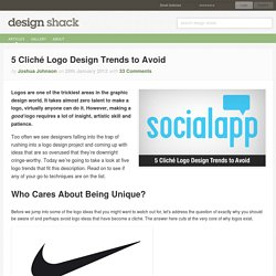 5 Cliché Logo Design Trends to Avoid