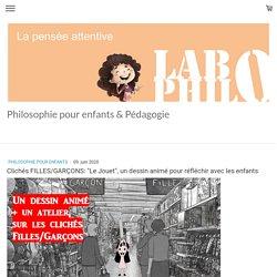 """Clichés FILLES/GARÇONS: """"Le Jouet"""", un dessin animé pour réfléchir avec les e..."""