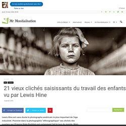 25 vieux clichés saisissants du travail des enfants vu par Lewis Hine