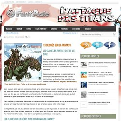 Fant'asie - Blog fantasy, manga, gun