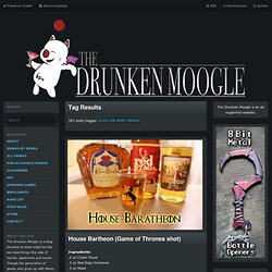CLICK FOR MORE DRINKS | The Drunken Moogle
