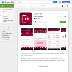 Clickedu - Aplicaciones en Google Play