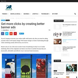 Get more clicks by creating better banner ads