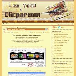 Les tuts à Clicpartout » Pack plugin pour Photofiltre