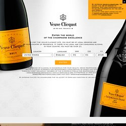 Maison Veuve Clicquot, luxury Champagnes - Champagne Veuve Clicquot