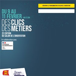 Des clics des metiers - Région Normandie