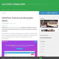 ClientFlow. Outil de suivi des projets clients