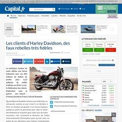 Les clients d'Harley Davidson, des faux rebelles très fidèles