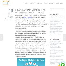 Get more clients through Digital Marketing