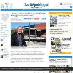 100 000 clients par mois pour les McDo de l'agglomération de Pau