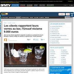 Les clients rapportent leurs verres au bar, l'Urssaf réclame 9.000 euros