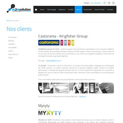 Nos clients - M2M Solution, one of the leading M2M manufacturer