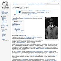 Clifford Hugh Douglas