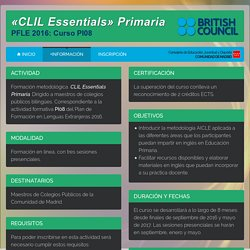 CLIL Essentials Primaria