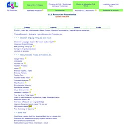 CLIL Resources / Recursos AICLE