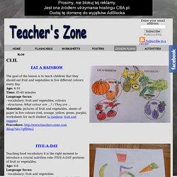 CLIL - Teacher's Zone