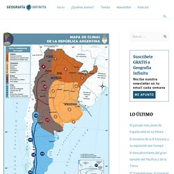 El clima de Argentina a través de los mapas