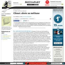 Climat: alerte au méthane