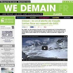 Climat : le cri d'alerte de Claude Lorius face au rapport du GIEC