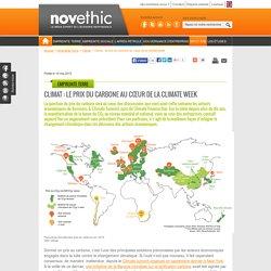 Climat : le prix du carbone au cœur de la climate week