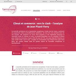 Climat et commerce : vers le clash - l'analyse de Jean Pisani-Ferry
