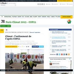 Climat: l'enlisement de l'après-COP21