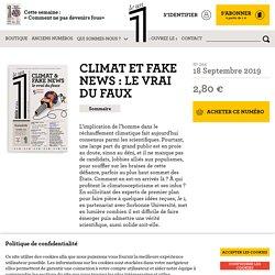 Climat et fake news : le vrai du faux