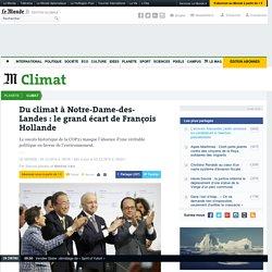 Du climat à Notre-Dame-des-Landes: le grand écart de François Hollande