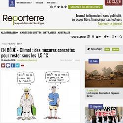 EN BÉDÉ - Climat: des mesures concrètes pour rester sous les 1,5°C