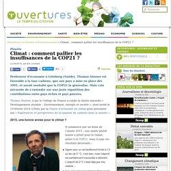 2016/03/04 - Climat : comment pallier les insuffisances de la COP21