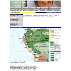Le climat du Pérou et carte climatique du Pérou