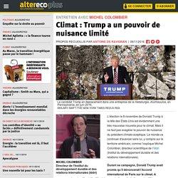 Climat : Trump a un pouvoir de nuisance limité