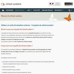 Climat scolaire -Mesurer le climat scolaire