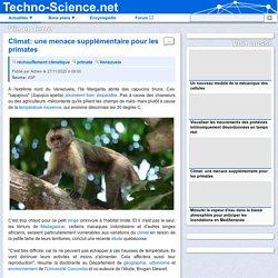 □ Climat: une menace supplémentaire pour les primates