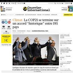 """Climat. La COP21 se termine sur un accord """"historique"""" entre 195 pays"""
