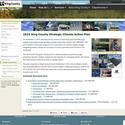 King County Strategic Climate Action Plan