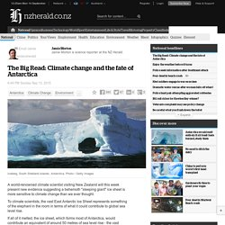 The Big Read: Climate change and the fate of Antarctica