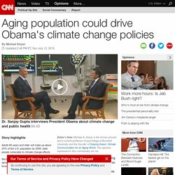 On climate change, Obama needs older adults (Opinion)