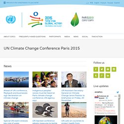 Climate Change Conference Paris 2015