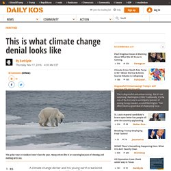 This is what climate change denial looks like
