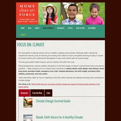 Climate Change Facts and Resources < Moms Clean Air Force